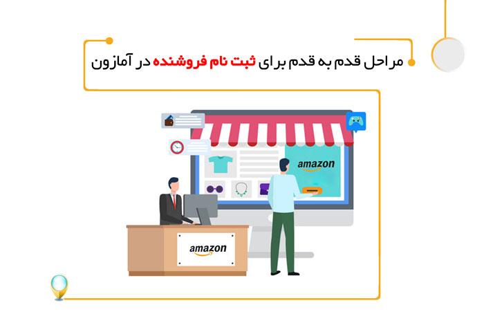 مراحل قدم به قدم برای ثبت نام فروشنده در آمازون