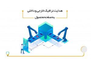 هدایت ترافیک به صفحه محصول