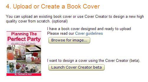 ساخت یا آپلود جلد کتاب