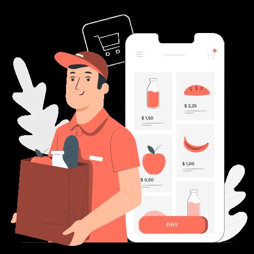 Online Groceries-pana