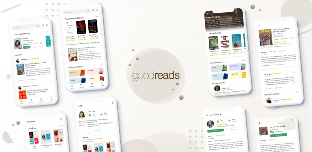 صفحه کتاب خود را در Goodreads بسازید