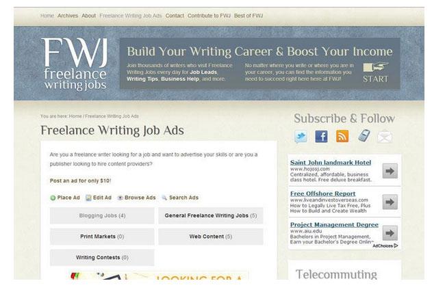 بستر فریلنسینگ Freelance-Writing-Gigs