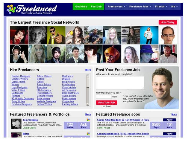 یکی از سایت های فریلنسری خارجی Freelance-Writing-Gigs