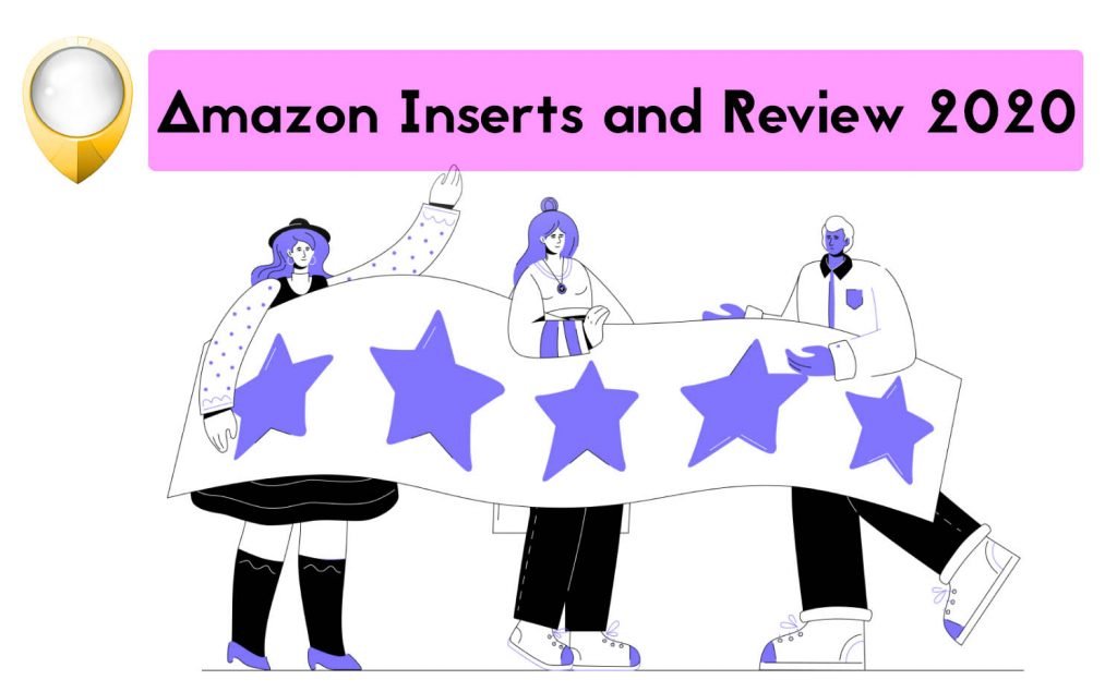 Amazon Reviews and Inserts 2020