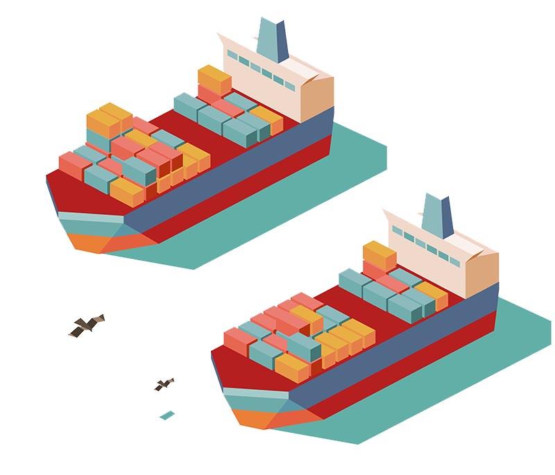 Shipping to Australia warehouses